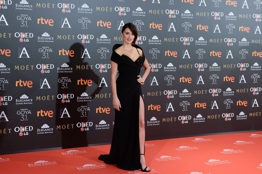 Penelope Cruz attends Goya Cinema Awards 2017 at Madrid Marriott Auditorium