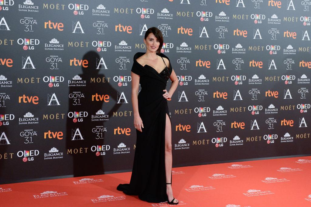 Penelope Cruz attends Goya Cinema Awards 2017 at Madrid Marriott Auditorium