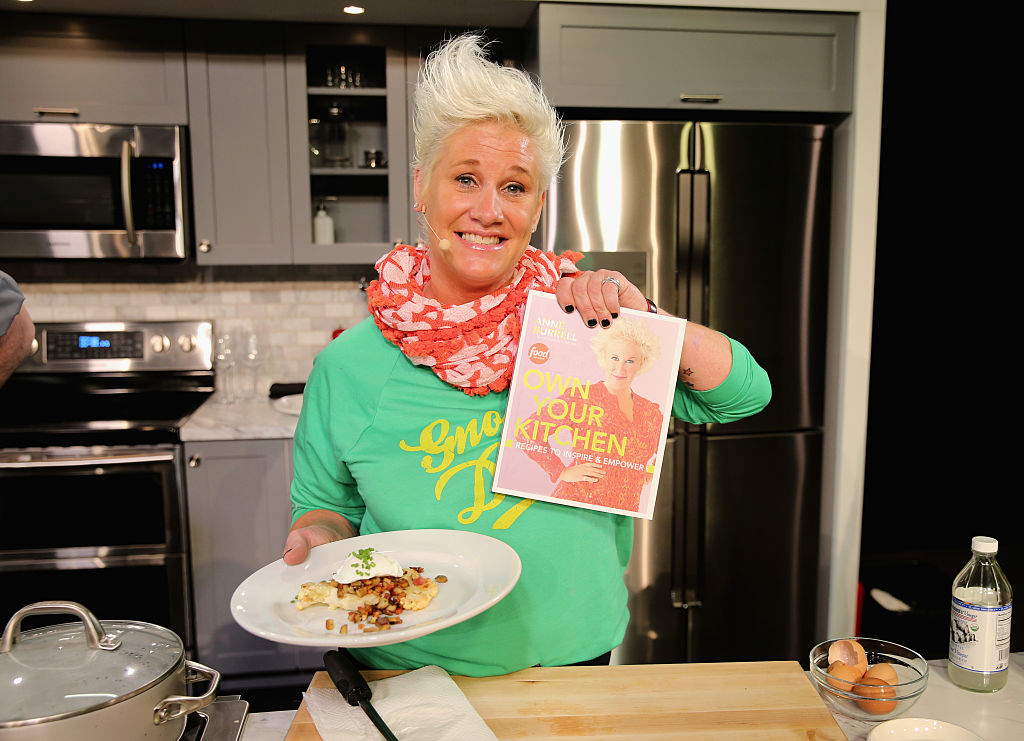 Chef Anne Burrell attends the Grand Tasting presented by ShopRite