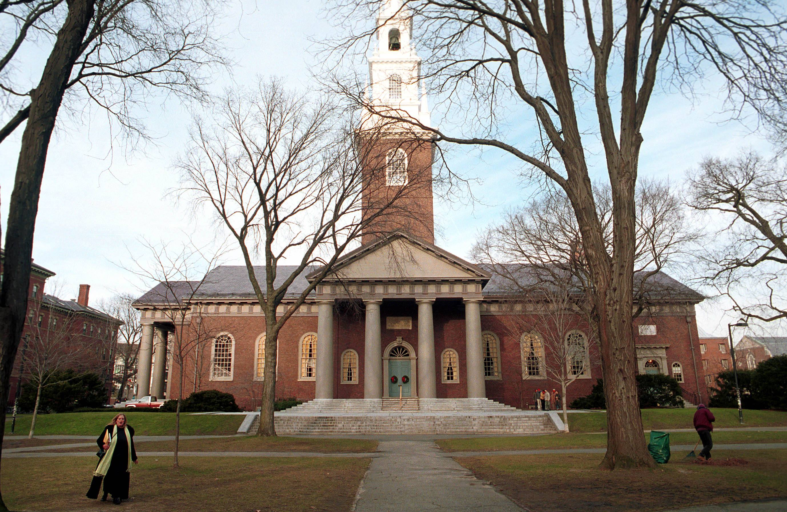 Harvard University's main campus