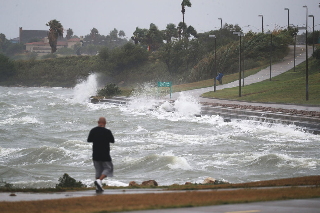 Texas Gulf Coast in Hurricane Harvey