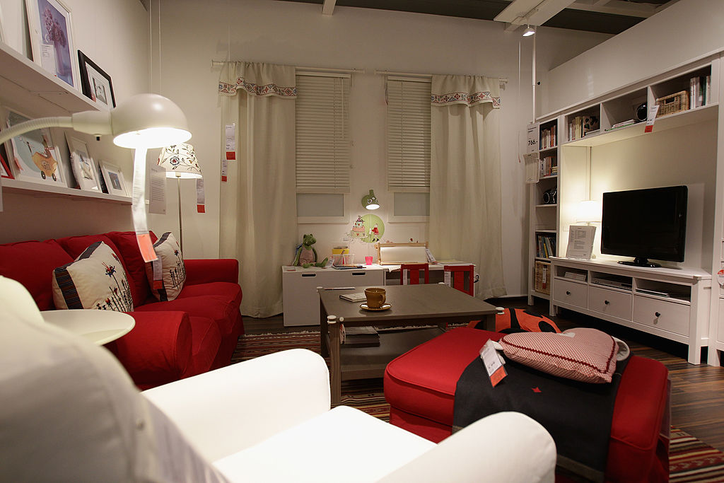 furniture collection during a store opening at the 4th Ikea chain store in Berlin