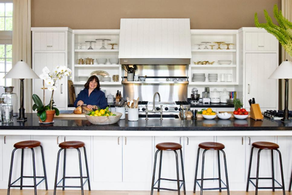 Ina Garten in her kitchen