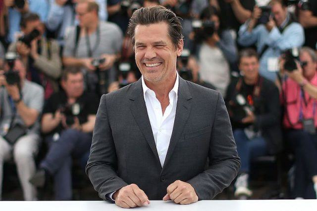 Josh Brolin smiles during a photocall for the film 'Sicario' at the 68th Cannes Film Festival in Cannes.