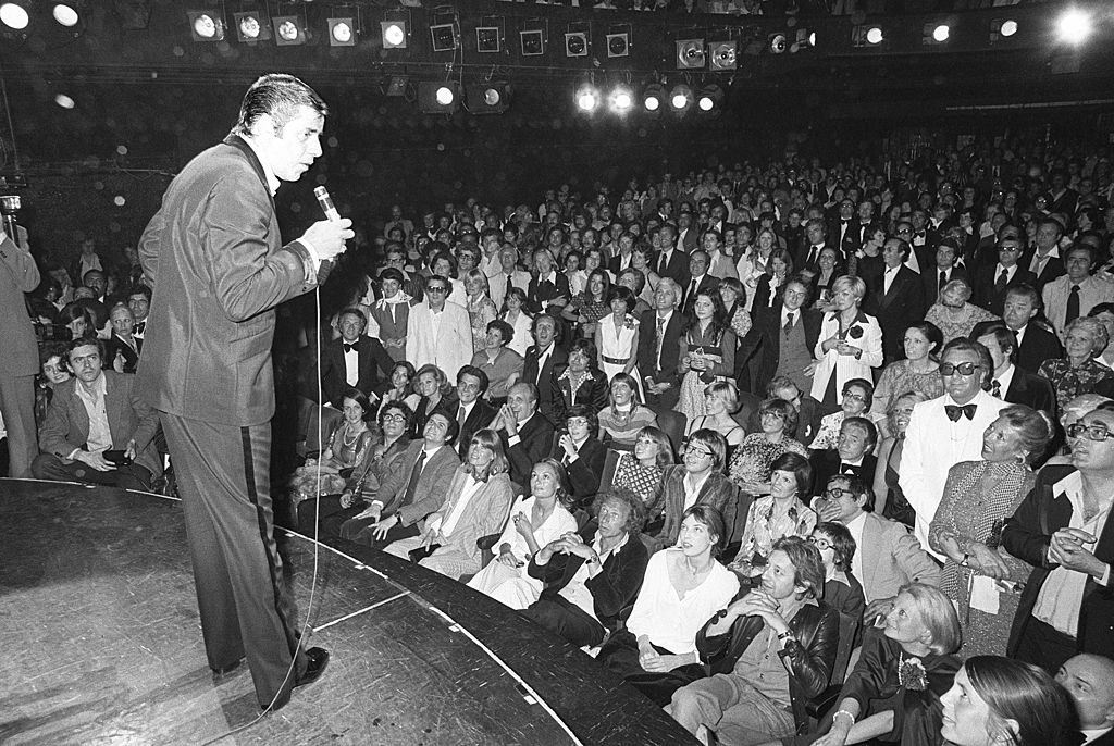 Jerry Lewis Performs in 1976