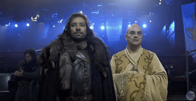 Jimmy Fallon parodies Game of Thrones