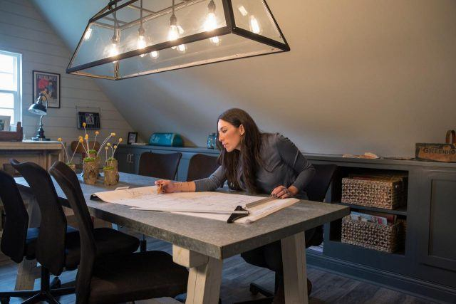 Joanna Gaines designs a home on HGTV's 'Fixer Upper'.