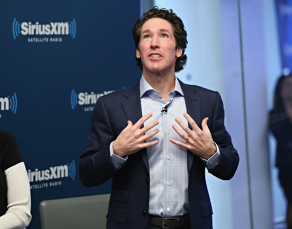 Joel Osteen at SiriusXM Studios