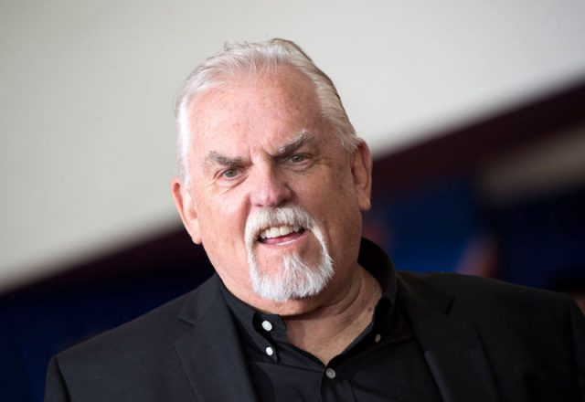 John Ratzenberger at a Disney Pixar event in California.