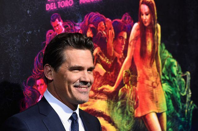 Josh Brolin attends the premiere of 'Inherent Vice' in Hollywood.