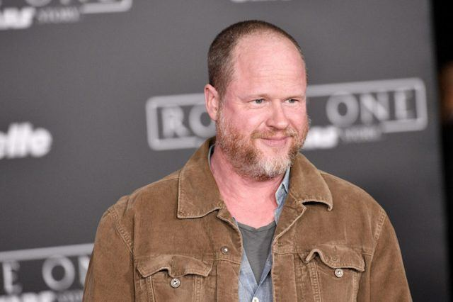 Joss Whedon attends premiere of Rogue One: A Star Wars Story