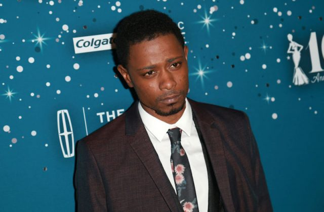 Lakeith Stanfield poses for photos at an event in Beverly Hills.