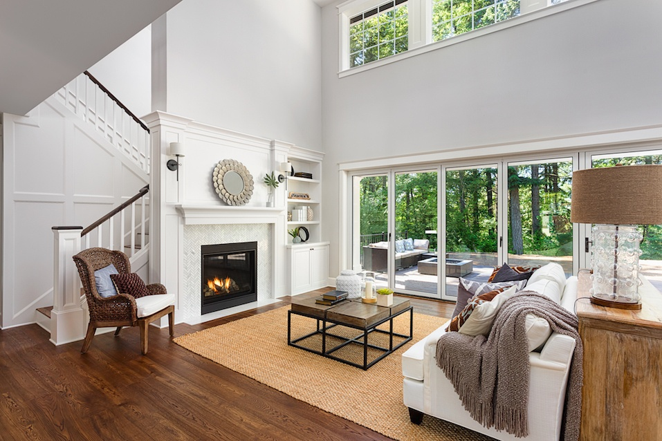 Beautiful living room interior