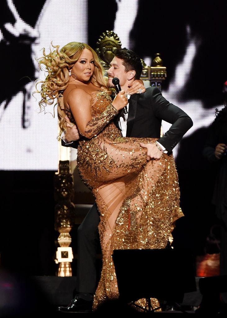 Mariah Carey and Bryan Tanaka Perform