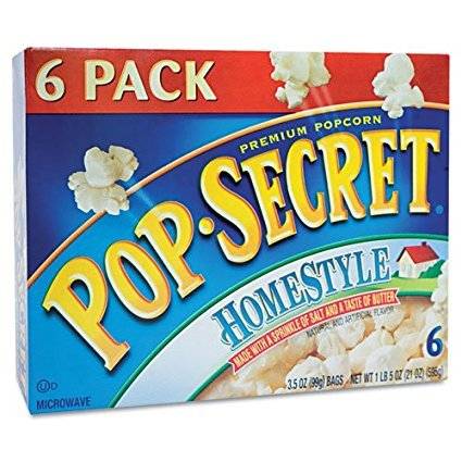 Healthy Snacks That Are Total Scams Microwave Popcorn