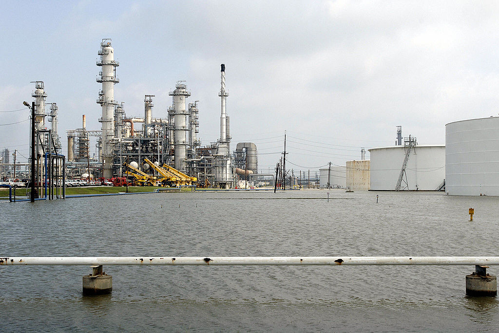 Motiva refinery in Texas