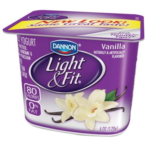light and fit yogurt