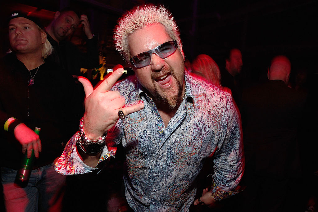 Guy Fieri attends Patron Presents The MAXIM Party