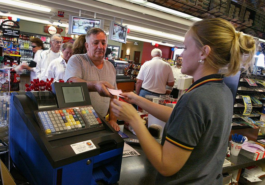 Customer buys Powerball ticket
