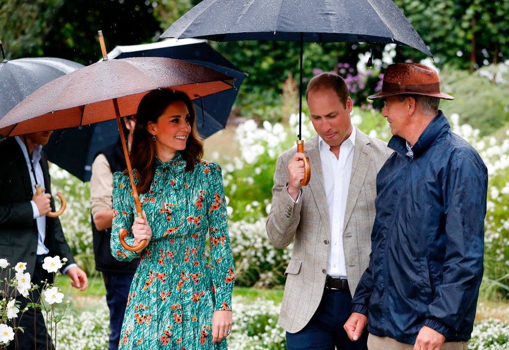 Prince William, Duchess Kate and Prince Harry