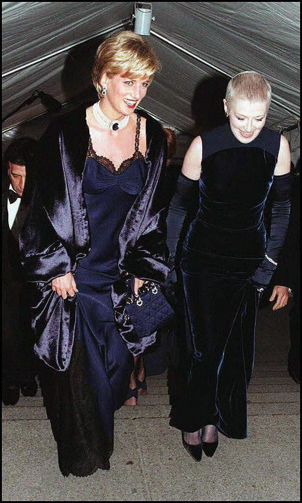 Princess Diana at the Met Ball