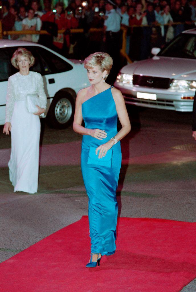 Princess Diana Blue Gown