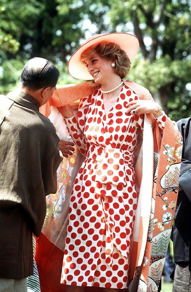 Diana Princess of Wales in Japan