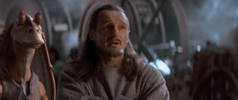 Qui-Gon Jinn in The Phantom Menace