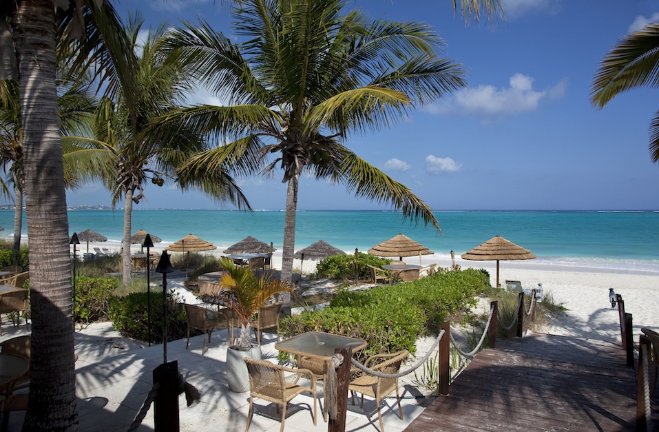 Restaurant by the Caribbean Sea