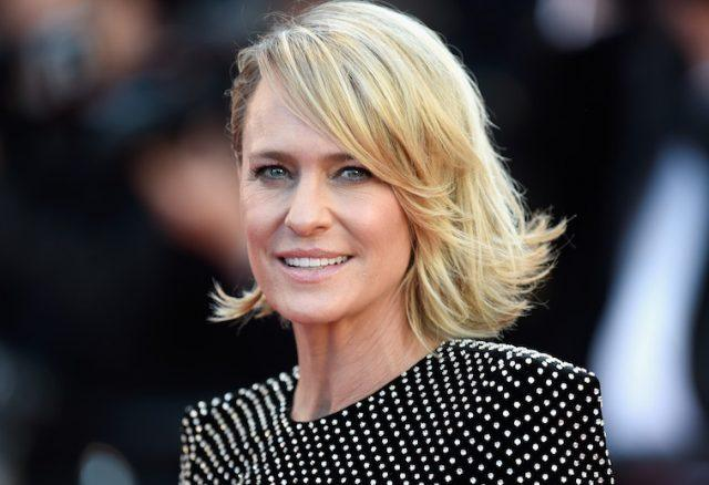 Robin Wright seen attending the Les Fantomes d'Ismael Red Carpet and Gala