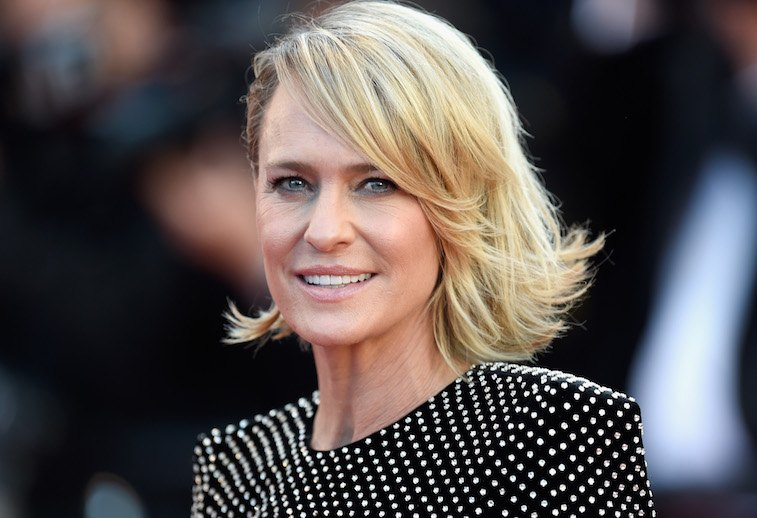 Robin Wright Attending Les Fantomes d'Ismael Red Carpet