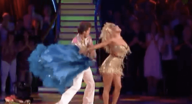 Sabrina Bryan and Louis Van Amstel's disco routine on 'DWTS'.