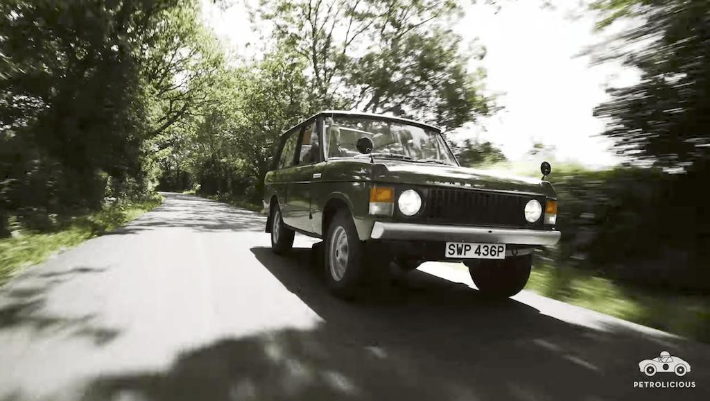 1970s Range Rover