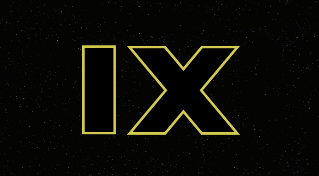 The promo poster for 'Star Wars IX'.
