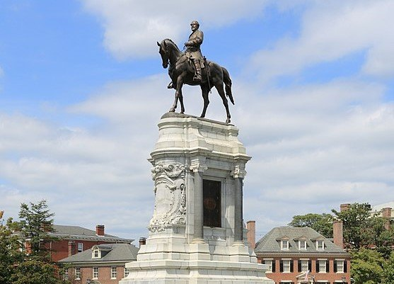 Confederate statue in Richmond, Virginia