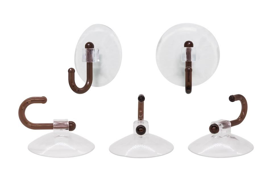 Suction cup on white background with clipping path