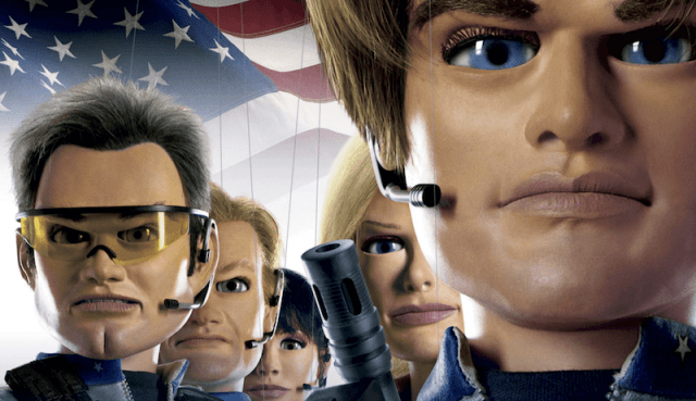 Team America: World Police character poster.