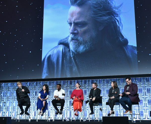 'The Force Awakens' cast at Star Wars Celebration Day 2017