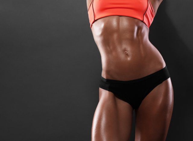 A toned and healthy body.