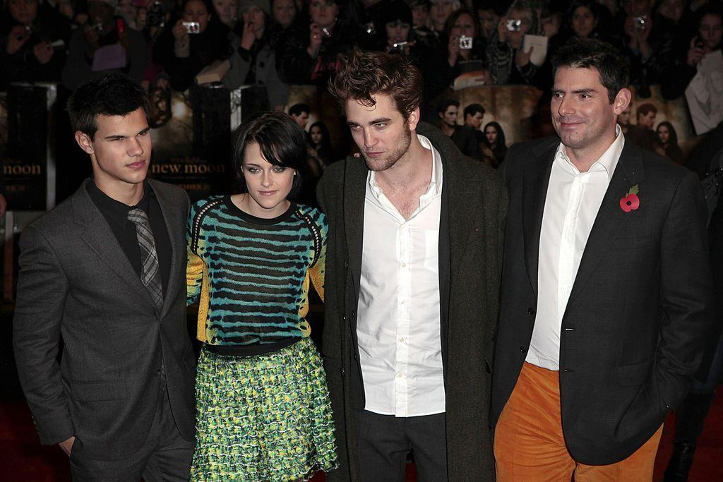 Director Chris Weitz and the Twilight Cast