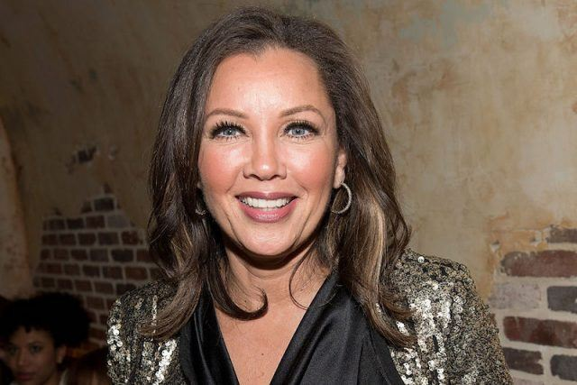 Vanessa Williams smiles at the listening party for 'Begin' in 2016.