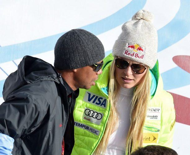 Tiger Woods and Lindsey Vonn.