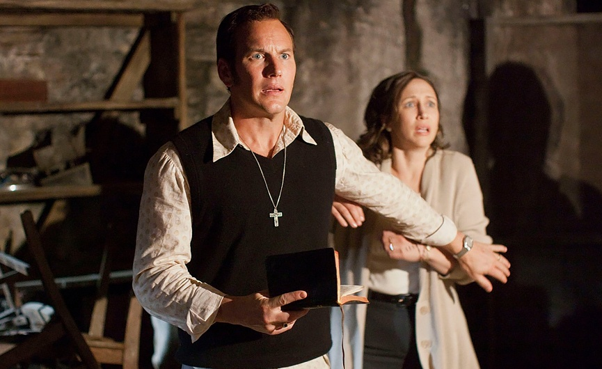 Ed and Lorraine Warren in The Conjuring