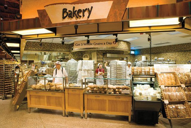 bakery at Wegmans