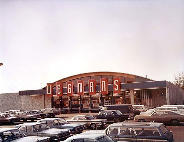 retro image of Wegmans