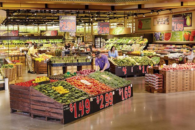 produce section at Wegmans