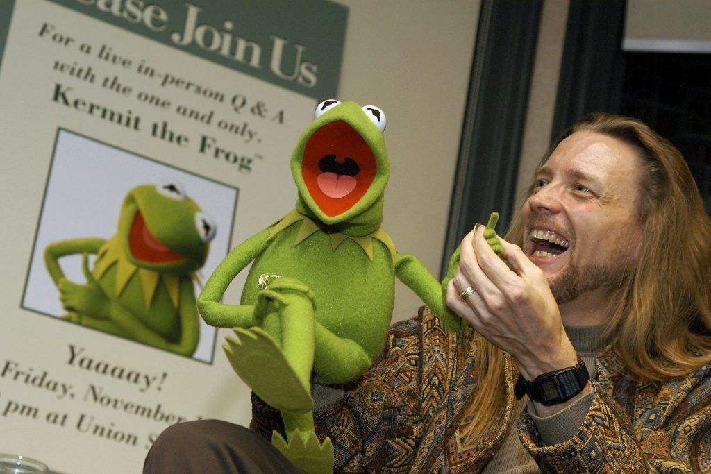 Steve Whitmire, the former voice of Kermit the Frog
