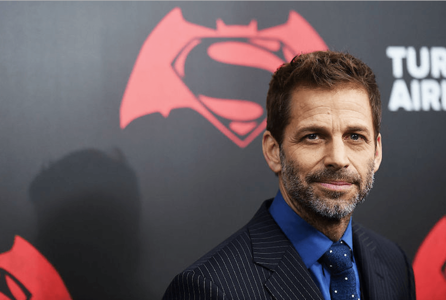 Zack Snyder stares into a camera