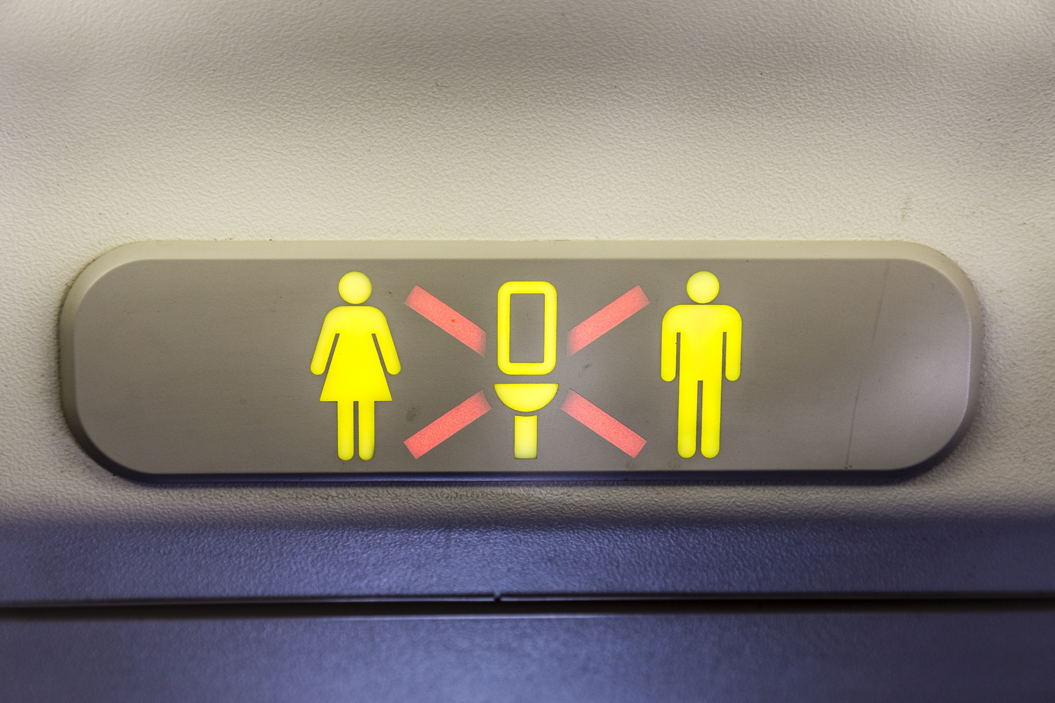 Anthony bourdain says this is the most obnoxious thing you for Occupied bathroom sign
