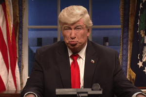 Donald Trump's Twitter Attack on Alec Baldwin Left Us Scratching Our Heads